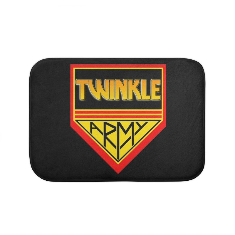 Twinkle Army Home Bath Mat by Twinkle's Artist Shop