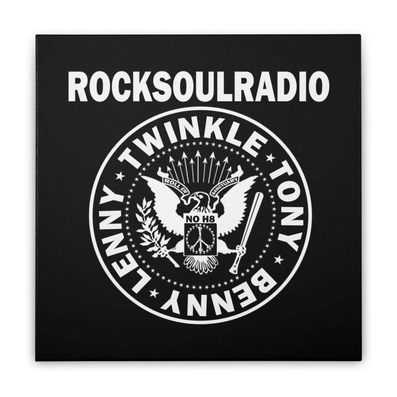 oversize full front logo Home Stretched Canvas by Twinkle's Artist Shop