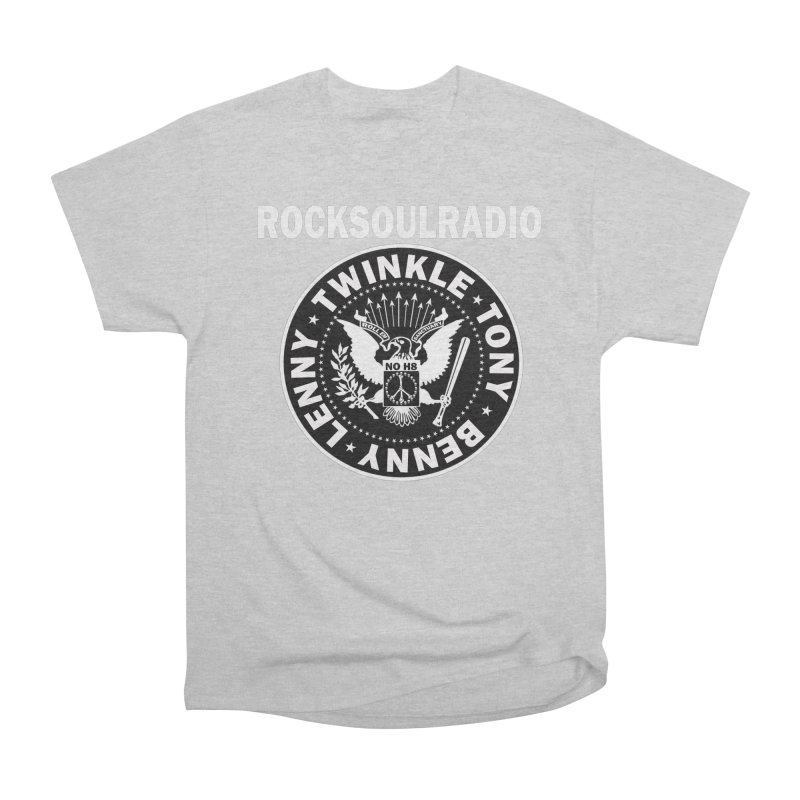 oversize full front logo Women's Heavyweight Unisex T-Shirt by Twinkle's Artist Shop