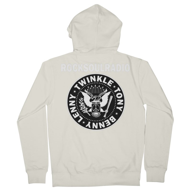 oversize full front logo Women's Zip-Up Hoody by Twinkle's Artist Shop
