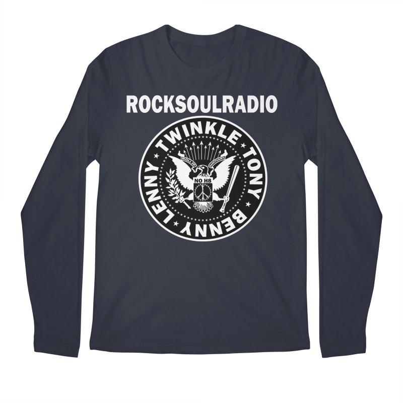 oversize full front logo Men's Regular Longsleeve T-Shirt by Twinkle's Artist Shop