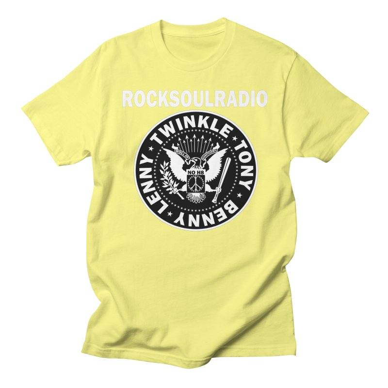 oversize full front logo Women's Regular Unisex T-Shirt by Twinkle's Artist Shop