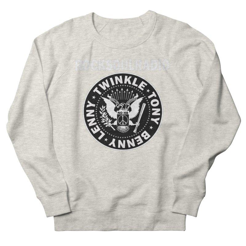 oversize full front logo Men's French Terry Sweatshirt by Twinkle's Artist Shop