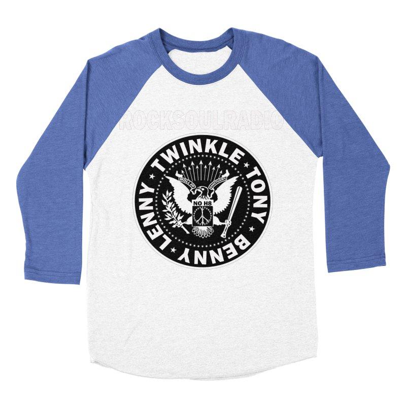 oversize full front logo Men's Baseball Triblend Longsleeve T-Shirt by Twinkle's Artist Shop