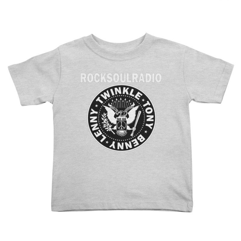oversize full front logo Kids Toddler T-Shirt by Twinkle's Artist Shop