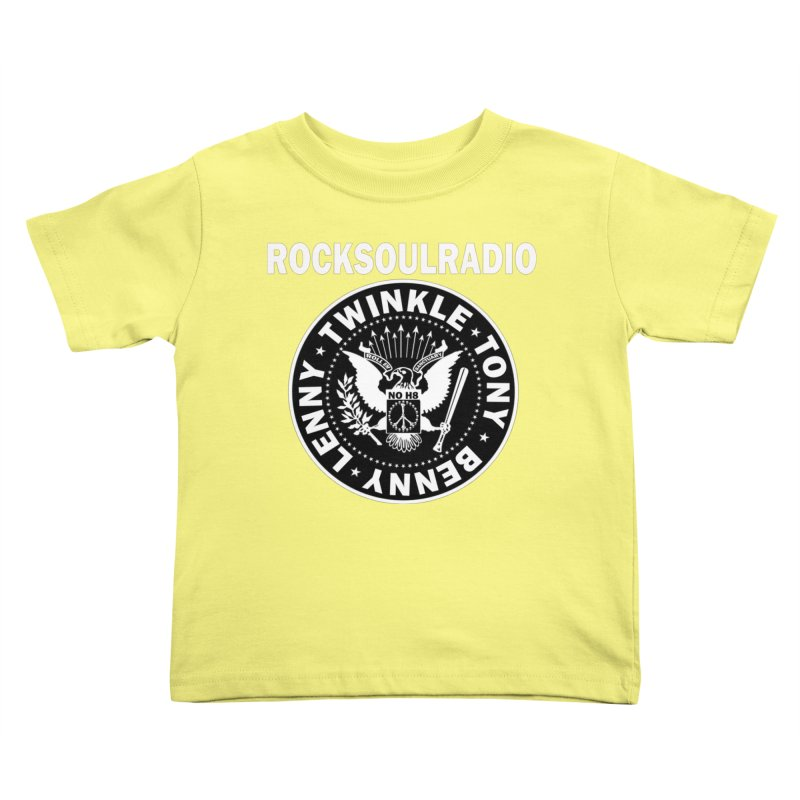 oversize full front logo Kids Toddler T-Shirt by Twinkle's Artist Shop