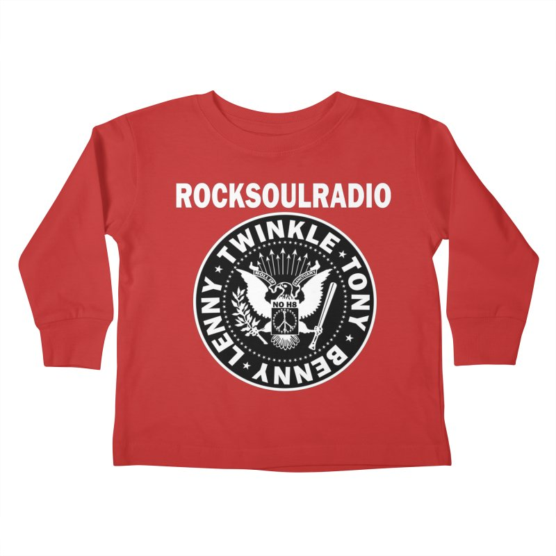 oversize full front logo Kids Toddler Longsleeve T-Shirt by Twinkle's Artist Shop