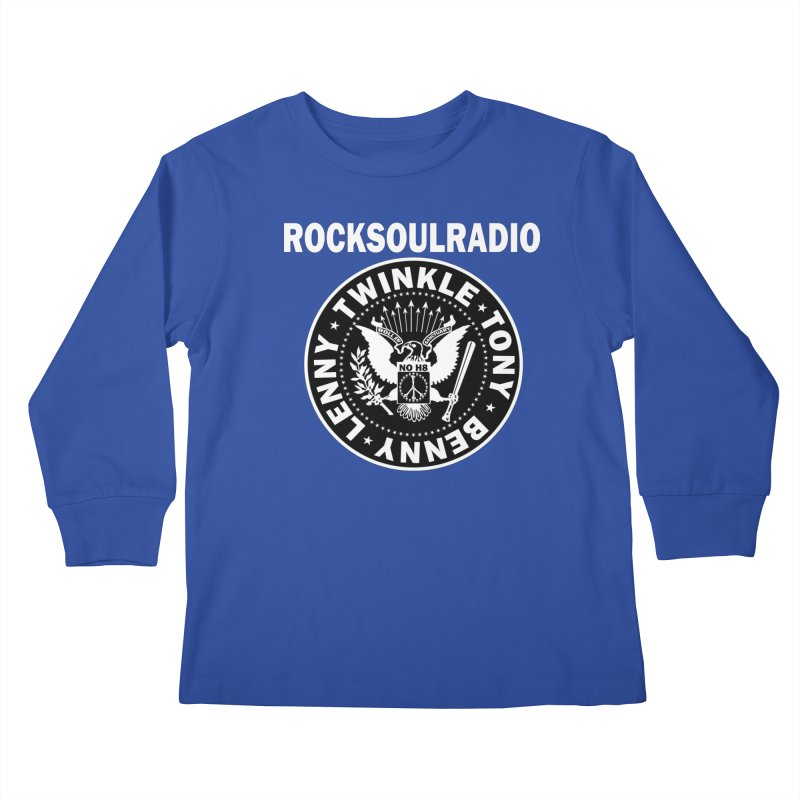 oversize full front logo Kids Longsleeve T-Shirt by Twinkle's Artist Shop