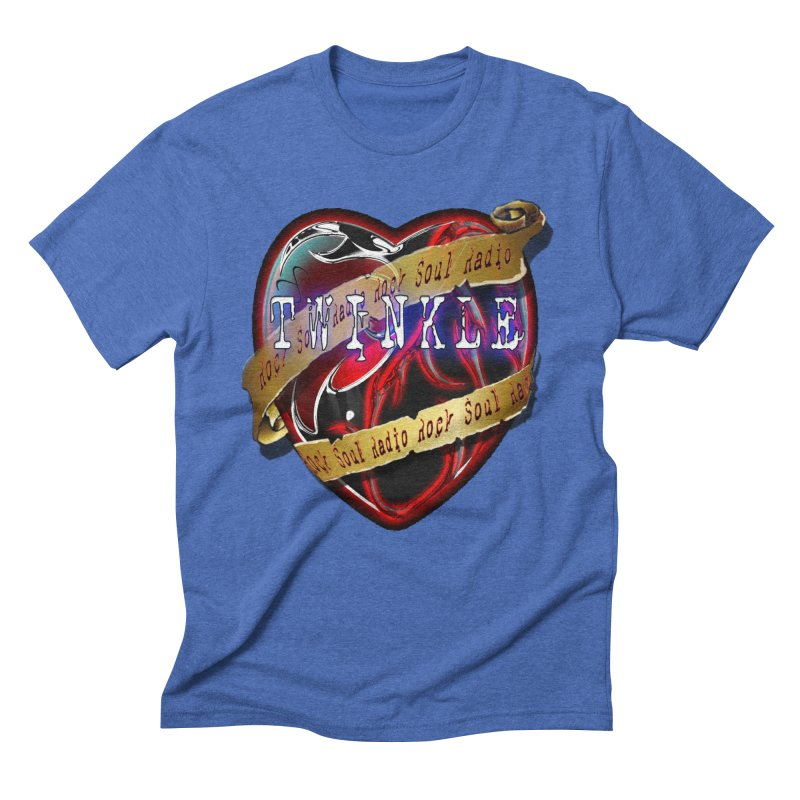 Twinkle and RSR love logo Men's T-Shirt by Twinkle's Artist Shop