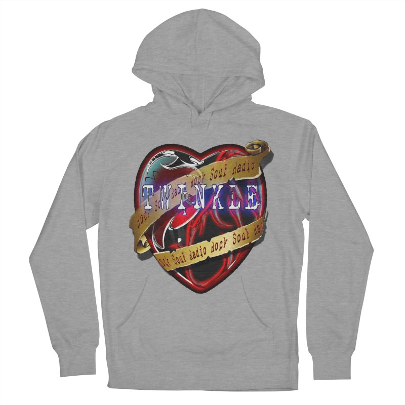 Twinkle and RSR love logo Women's French Terry Pullover Hoody by Twinkle's Artist Shop