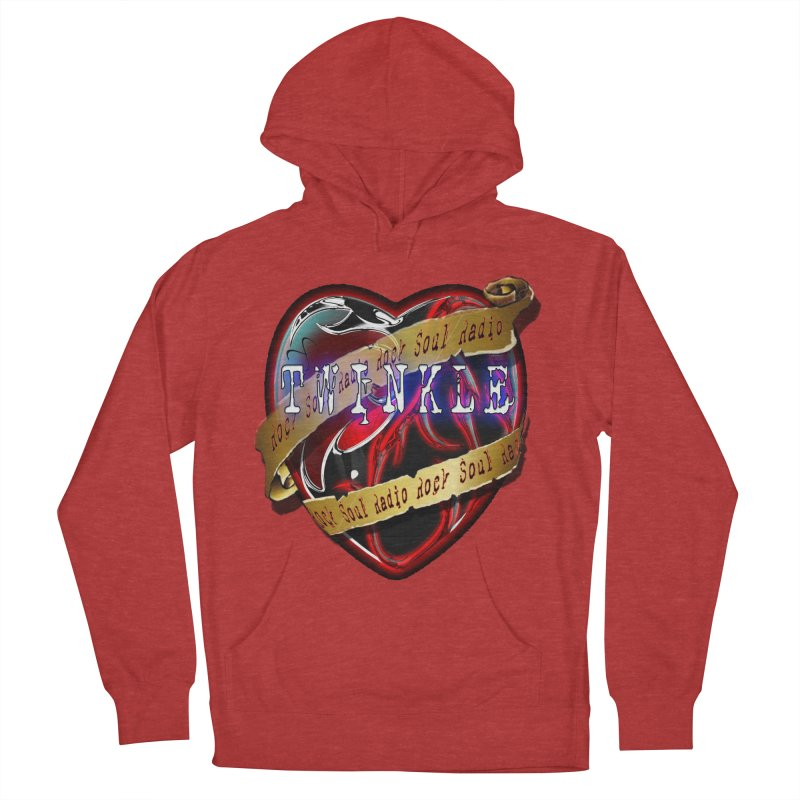 Twinkle and RSR love logo Men's Pullover Hoody by Twinkle's Artist Shop
