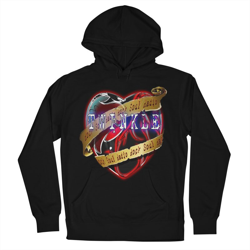 Twinkle and RSR love logo Men's French Terry Pullover Hoody by Twinkle's Artist Shop