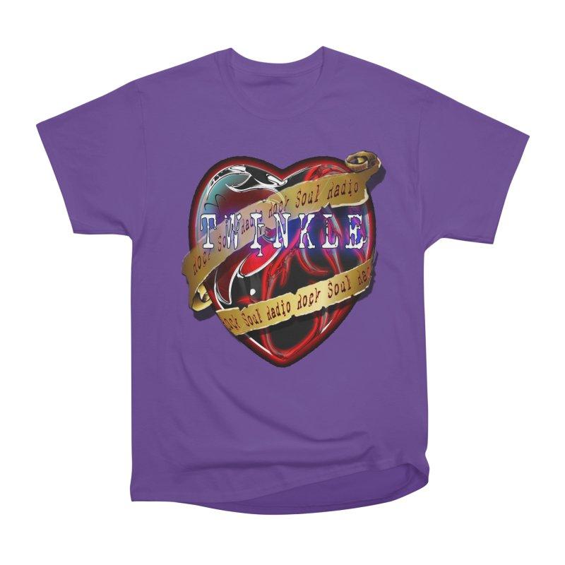 Twinkle and RSR love logo Men's Heavyweight T-Shirt by Twinkle's Artist Shop