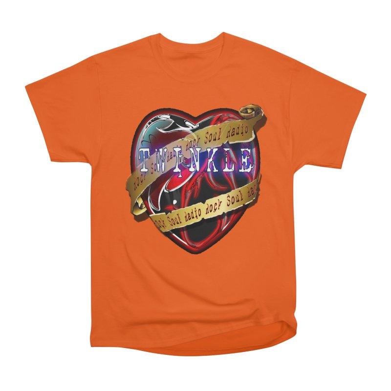 Twinkle and RSR love logo Women's Heavyweight Unisex T-Shirt by Twinkle's Artist Shop