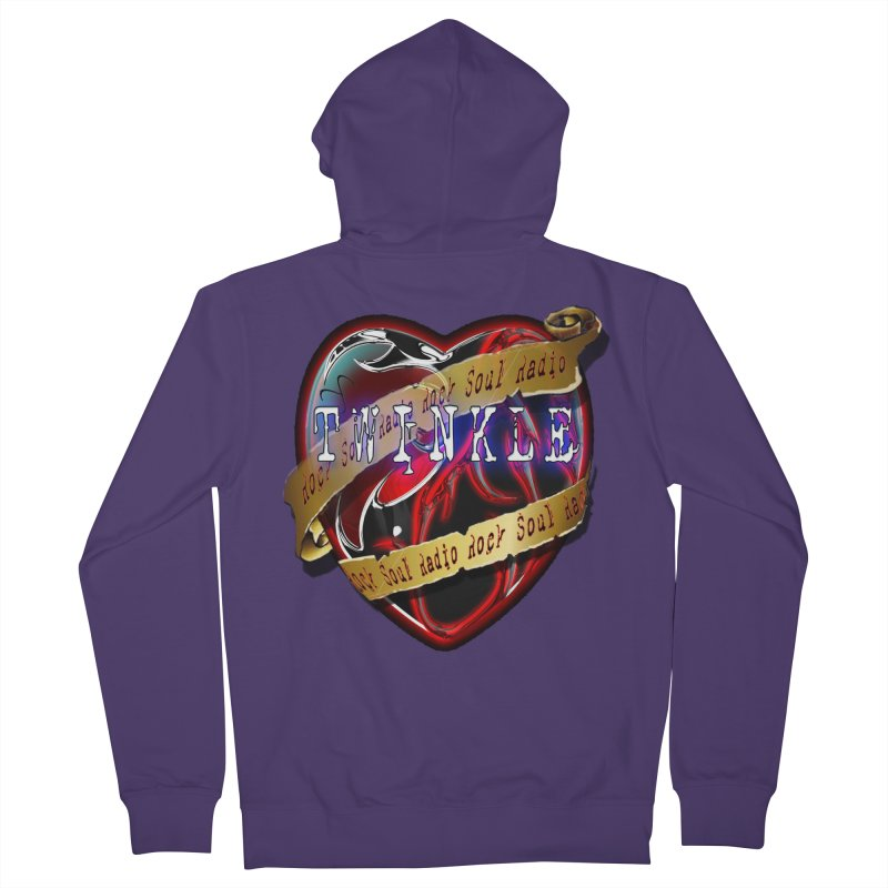 Twinkle and RSR love logo Women's Zip-Up Hoody by Twinkle's Artist Shop