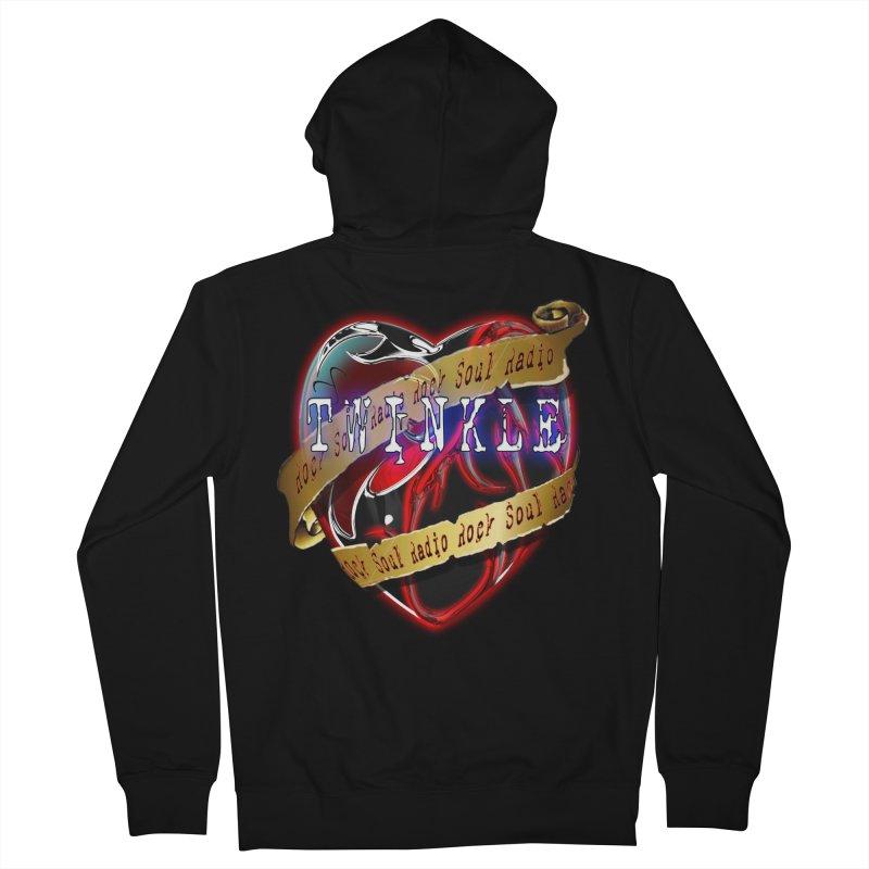 Twinkle and RSR love logo Women's Zip-Up Hoody by Twinkle's Artist Shop