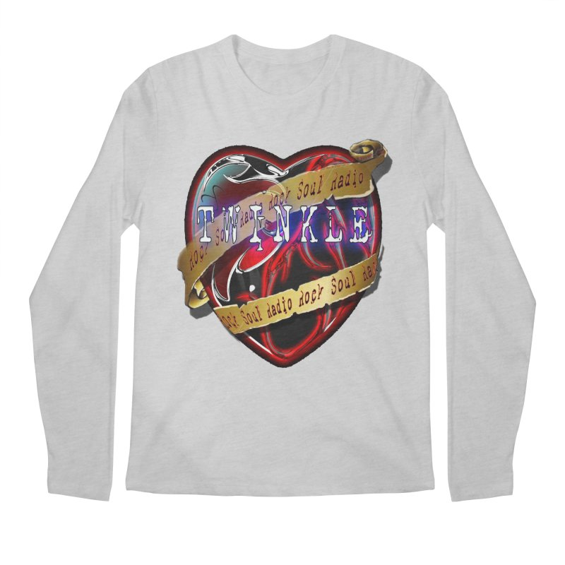 Twinkle and RSR love logo Men's Regular Longsleeve T-Shirt by Twinkle's Artist Shop