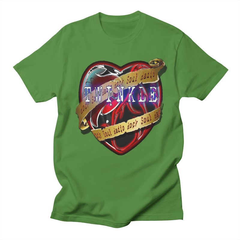 Twinkle and RSR love logo Men's Regular T-Shirt by Twinkle's Artist Shop
