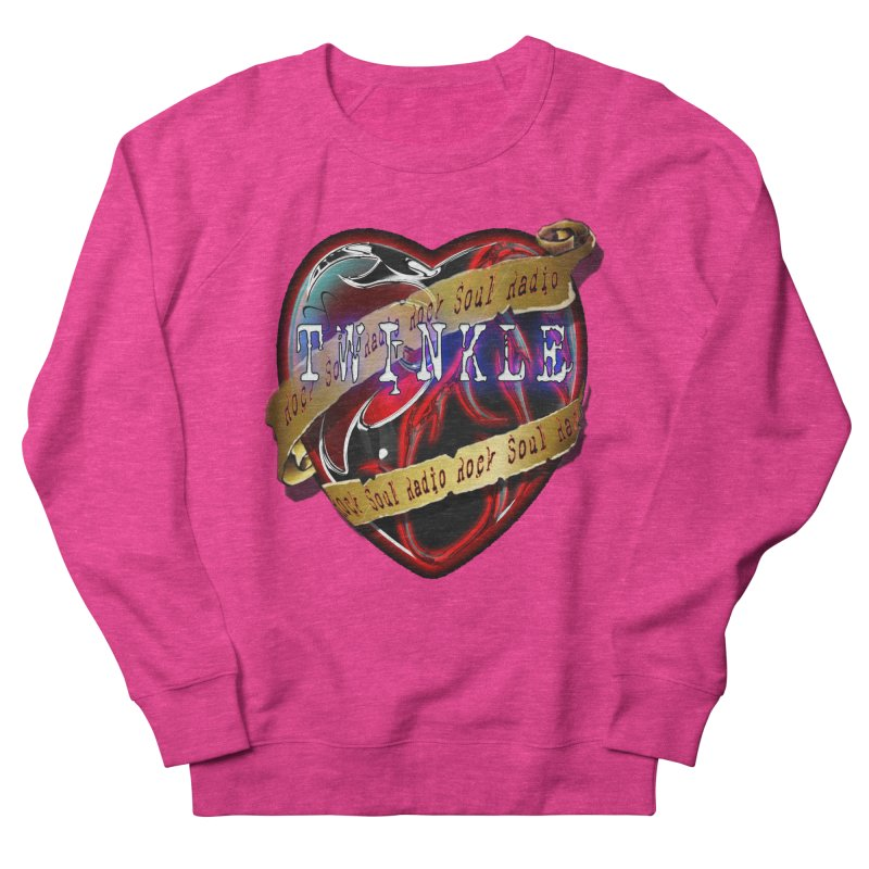 Twinkle and RSR love logo Women's French Terry Sweatshirt by Twinkle's Artist Shop