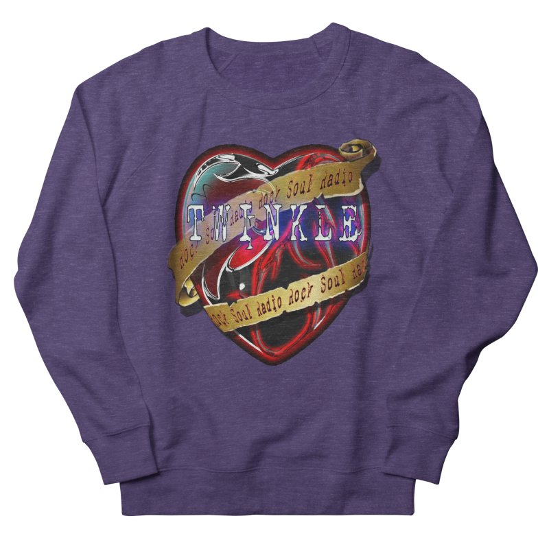 Twinkle and RSR love logo Men's French Terry Sweatshirt by Twinkle's Artist Shop