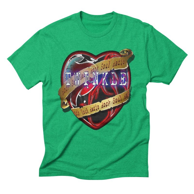 Twinkle and RSR love logo Men's Triblend T-Shirt by Twinkle's Artist Shop