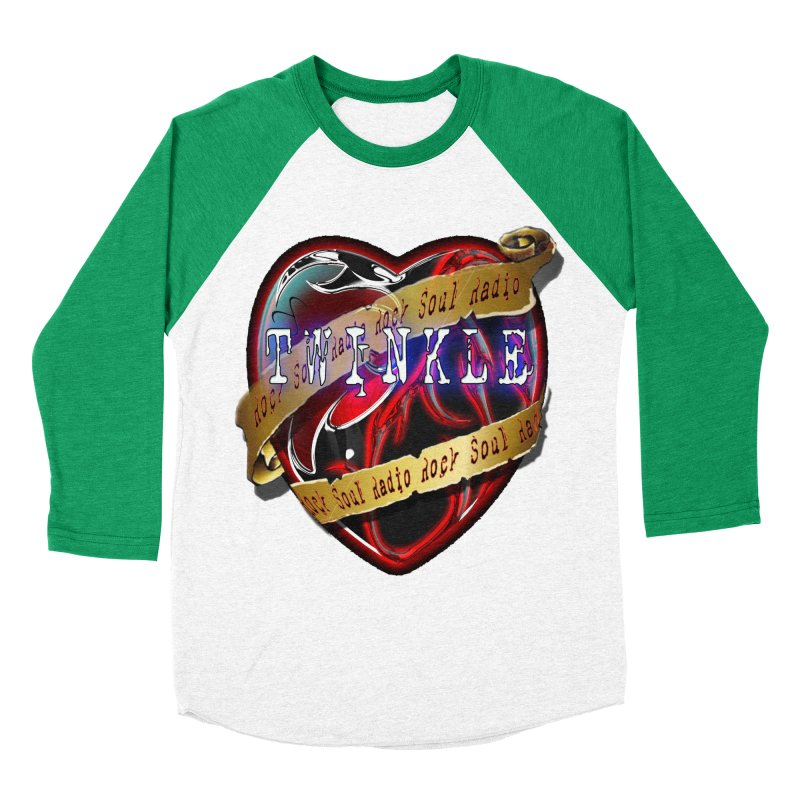 Twinkle and RSR love logo Women's Baseball Triblend Longsleeve T-Shirt by Twinkle's Artist Shop