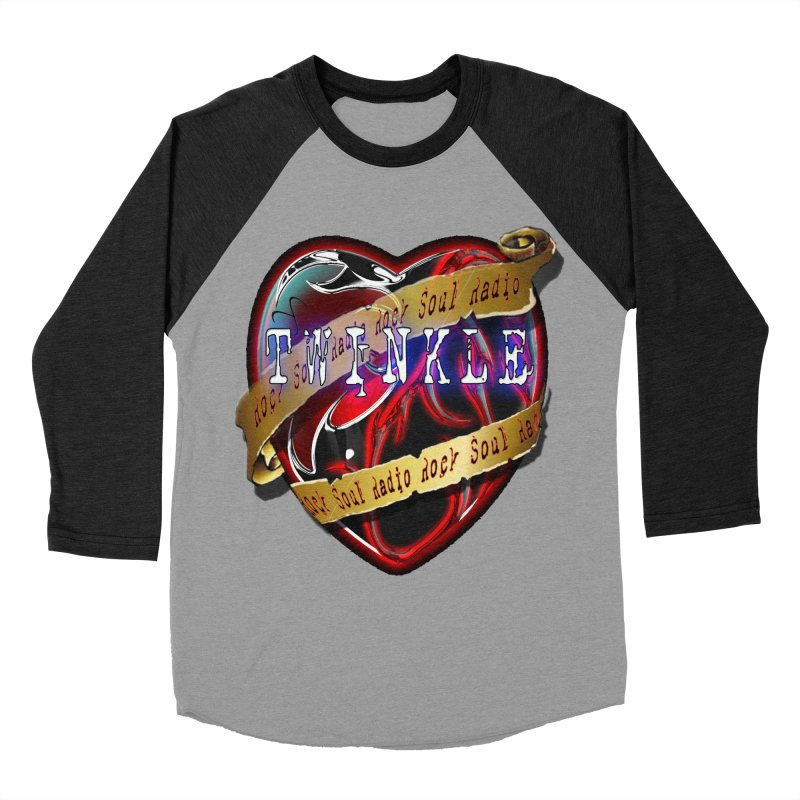 Twinkle and RSR love logo Women's Baseball Triblend Longsleeve T-Shirt by Twinkle's Artist Shop