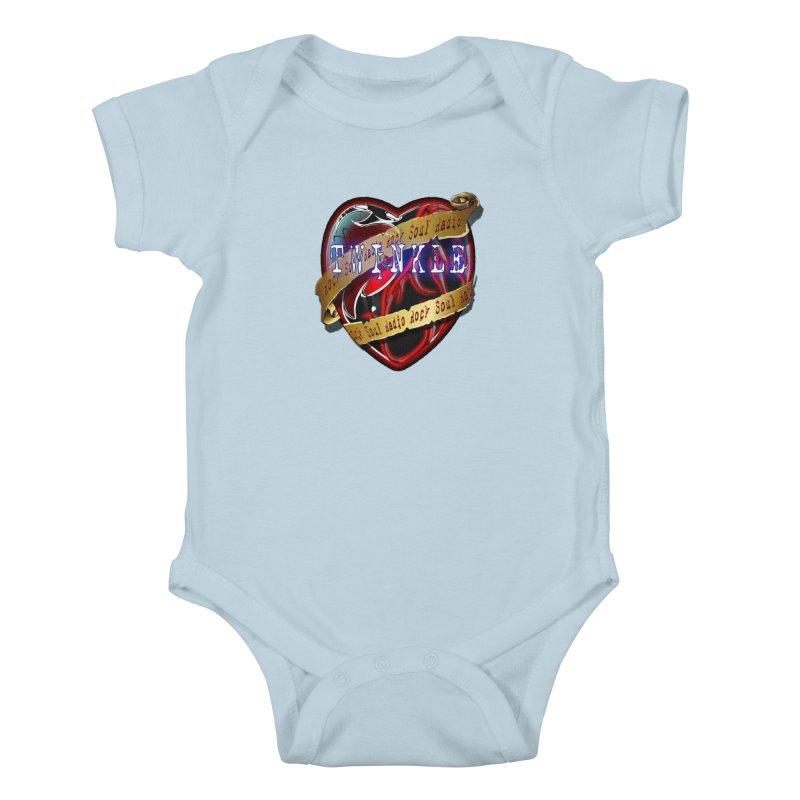 Twinkle and RSR love logo Kids Baby Bodysuit by Twinkle's Artist Shop