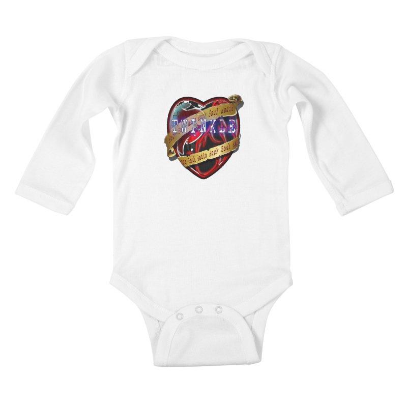 Twinkle and RSR love logo Kids Baby Longsleeve Bodysuit by Twinkle's Artist Shop