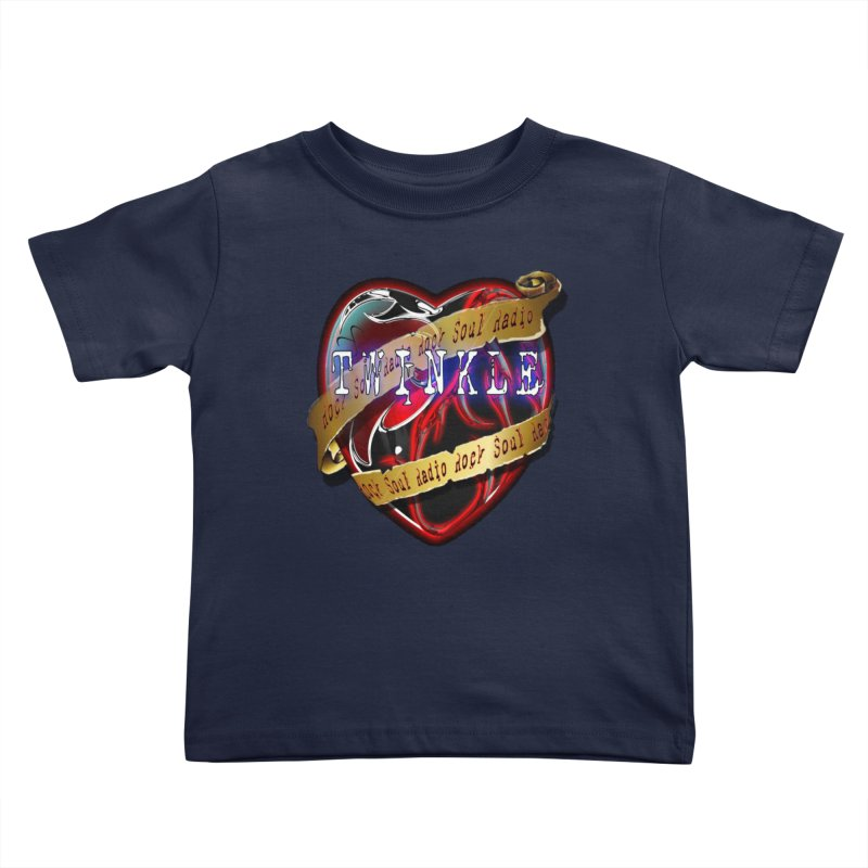Twinkle and RSR love logo Kids Toddler T-Shirt by Twinkle's Artist Shop