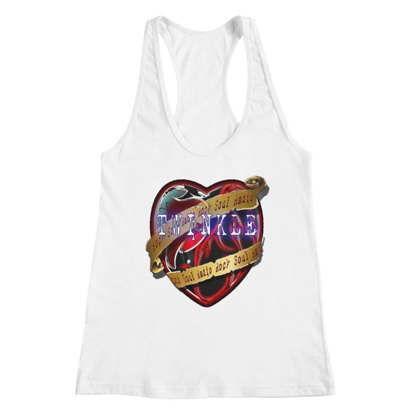 Twinkle and RSR love logo Women's Racerback Tank by Twinkle's Artist Shop