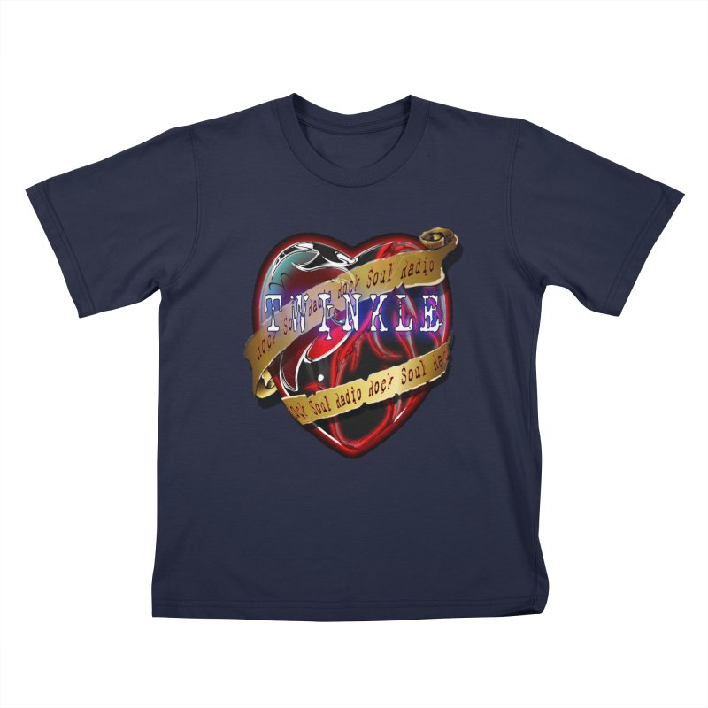 Twinkle and RSR love logo Kids T-Shirt by Twinkle's Artist Shop