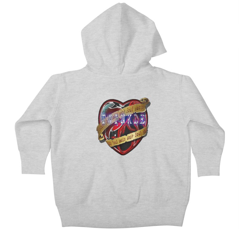 Twinkle and RSR love logo Kids Baby Zip-Up Hoody by Twinkle's Artist Shop