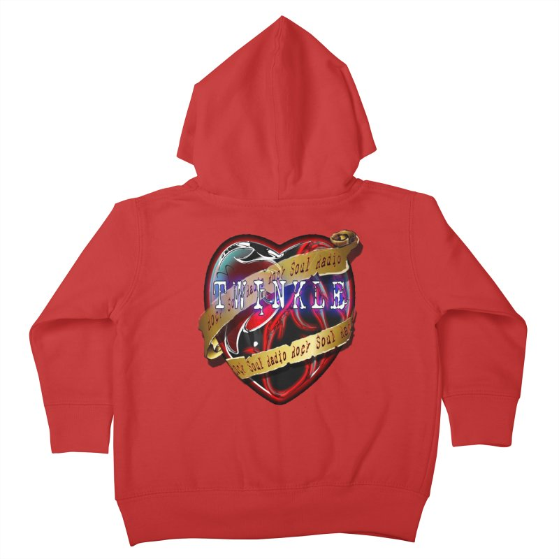 Twinkle and RSR love logo Kids Toddler Zip-Up Hoody by Twinkle's Artist Shop