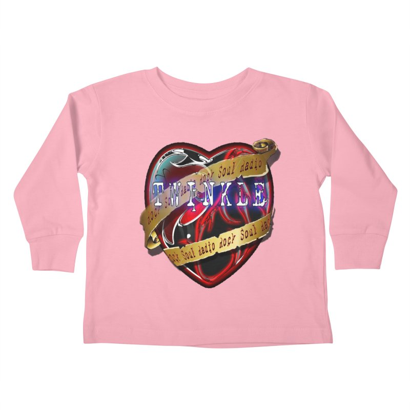 Twinkle and RSR love logo Kids Toddler Longsleeve T-Shirt by Twinkle's Artist Shop