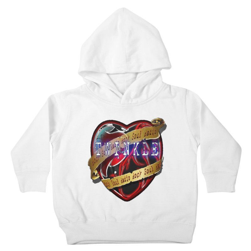 Twinkle and RSR love logo Kids Toddler Pullover Hoody by Twinkle's Artist Shop
