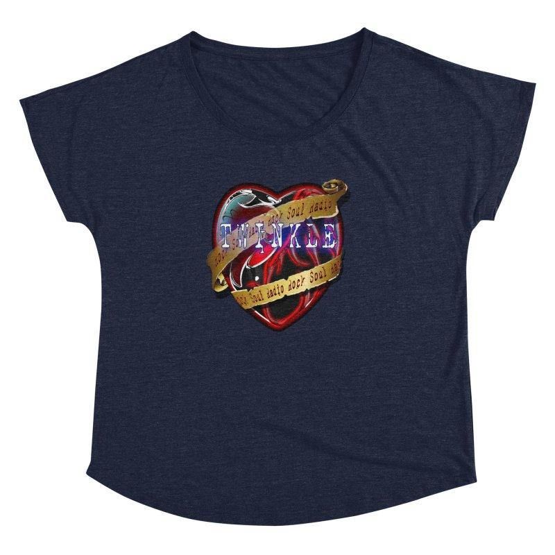Twinkle and RSR love logo Women's Dolman by Twinkle's Artist Shop