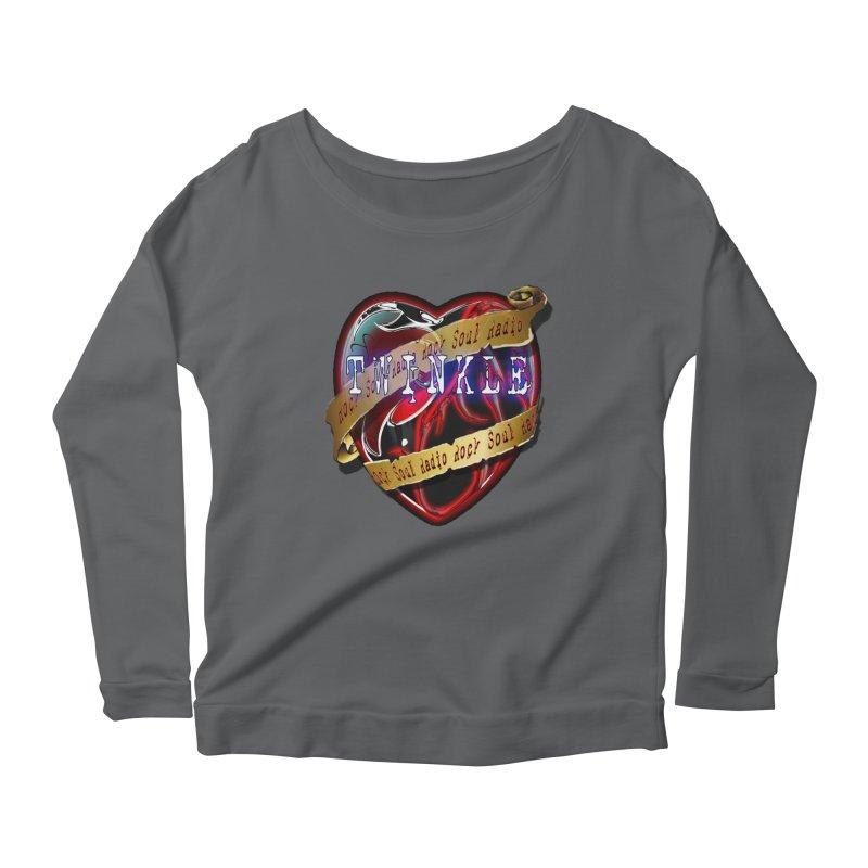 Twinkle and RSR love logo Women's Longsleeve Scoopneck  by Twinkle's Artist Shop