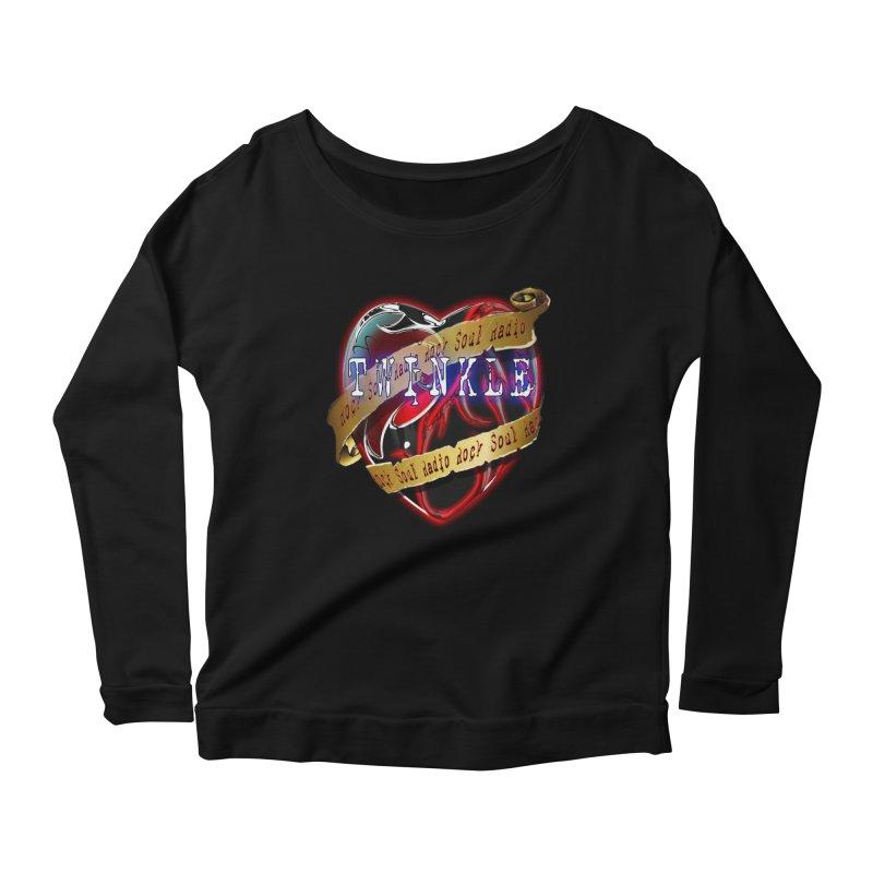 Twinkle and RSR love logo Women's Scoop Neck Longsleeve T-Shirt by Twinkle's Artist Shop