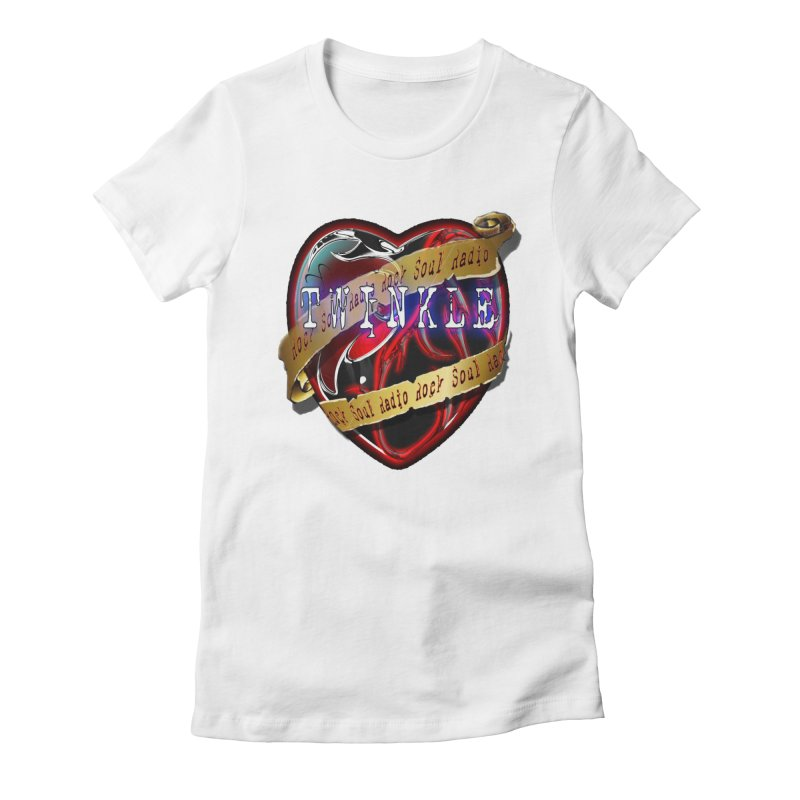 Twinkle and RSR love logo Women's Fitted T-Shirt by Twinkle's Artist Shop