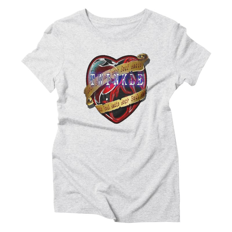 Twinkle and RSR love logo Women's Triblend T-Shirt by Twinkle's Artist Shop