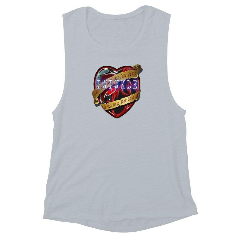 Twinkle and RSR love logo Women's Muscle Tank by Twinkle's Artist Shop