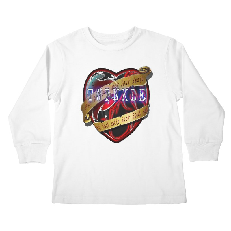 Twinkle and RSR love logo Kids Longsleeve T-Shirt by Twinkle's Artist Shop
