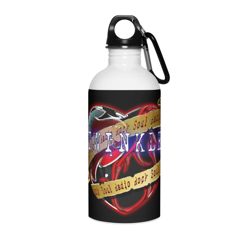 Twinkle and RSR love logo Accessories Water Bottle by Twinkle's Artist Shop