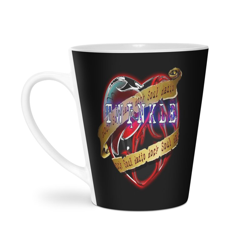 Twinkle and RSR love logo Accessories Latte Mug by Twinkle's Artist Shop
