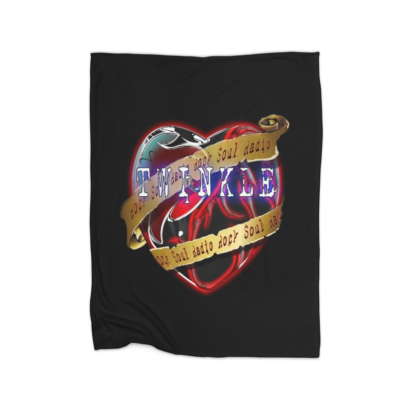 Twinkle and RSR love logo Home Blanket by Twinkle's Artist Shop