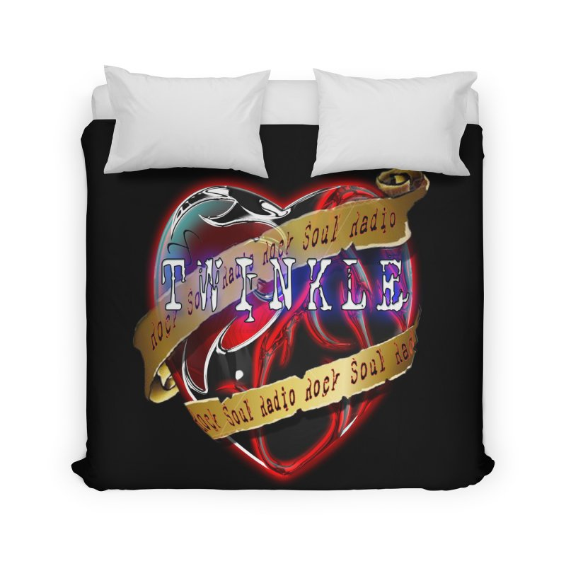 Twinkle and RSR love logo Home Duvet by Twinkle's Artist Shop