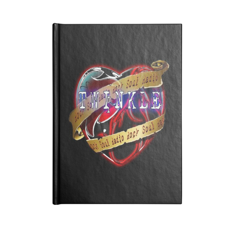 Twinkle and RSR love logo Accessories Notebook by Twinkle's Artist Shop