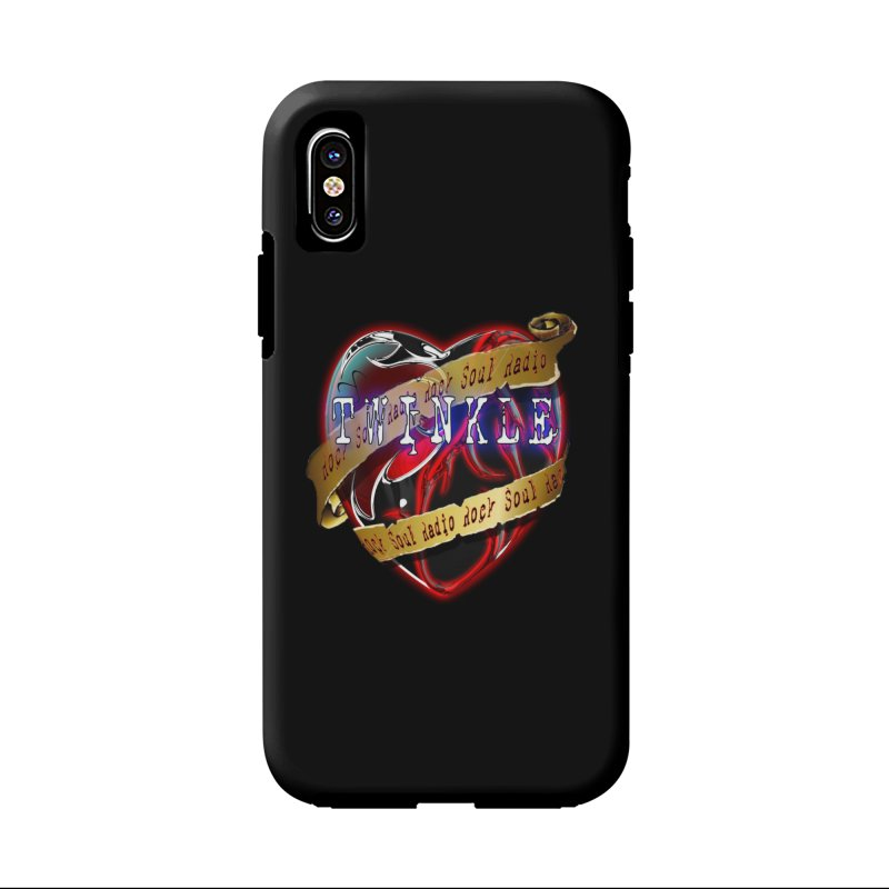 Twinkle and RSR love logo in iPhone X / XS Phone Case Tough by Twinkle's Artist Shop
