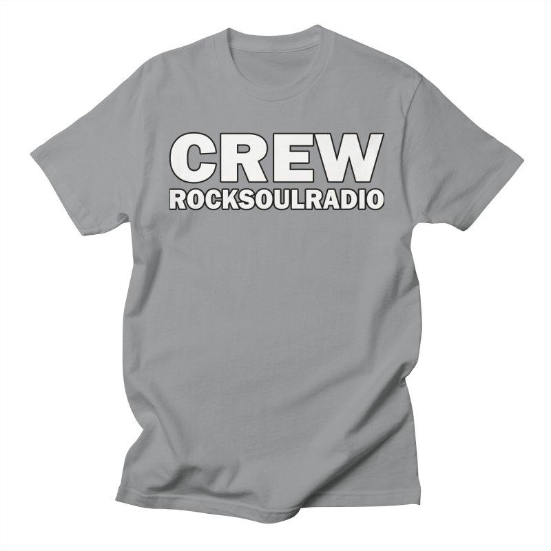 RSR CREW SHIRT Women's Regular Unisex T-Shirt by Twinkle's Artist Shop